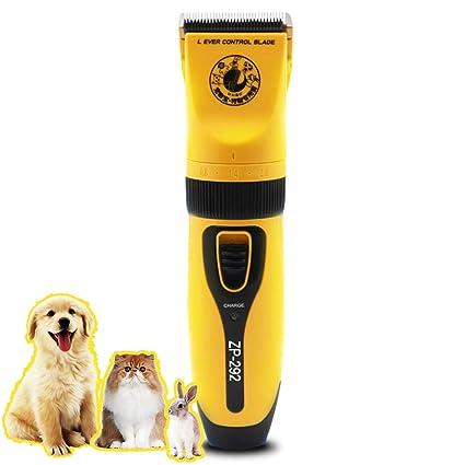 Kit de preparación mascotas Potencia eléctrica alta potencia para mascotas  Cortadora cabello Conejo Gato Perro de b1f47411fef6