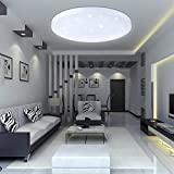 VINGO16W LED ceiling light Starlight Modern round bathroom ceiling light, 1600lm luminous flux