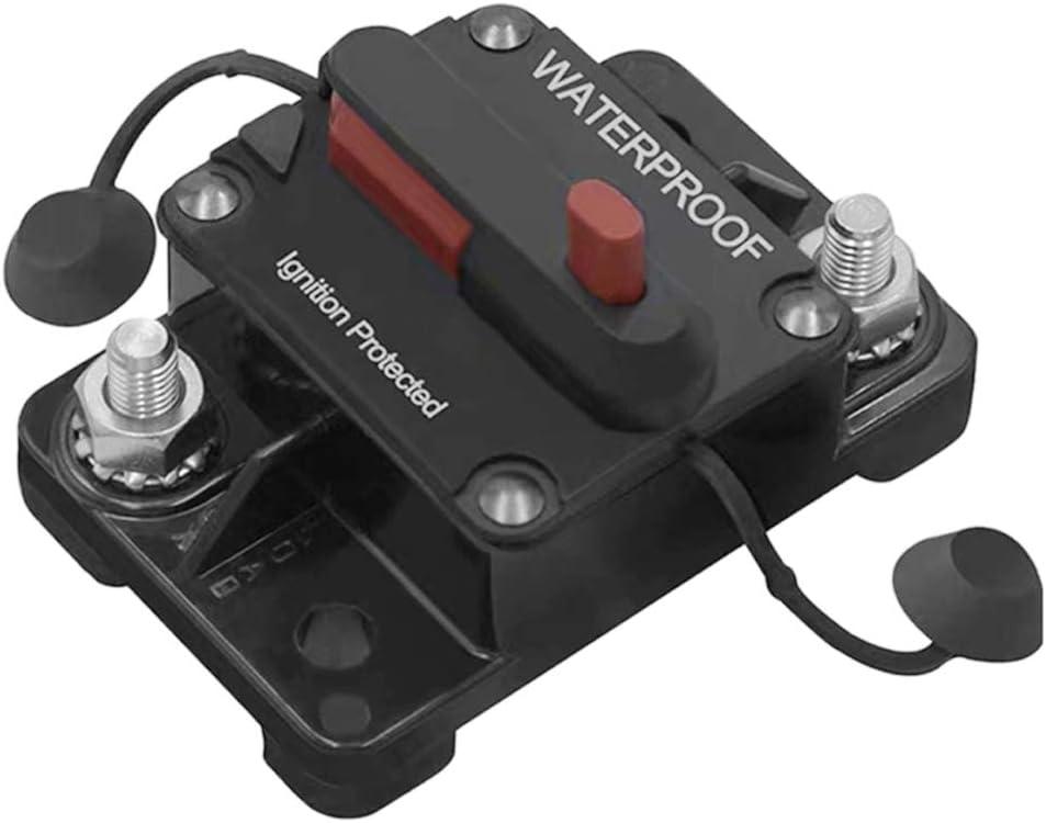 H HILABEE Disjoncteur Int/égr/é Fusible Support Audio de Voiture pour Protection de Syst/ème 12V 32V 40A