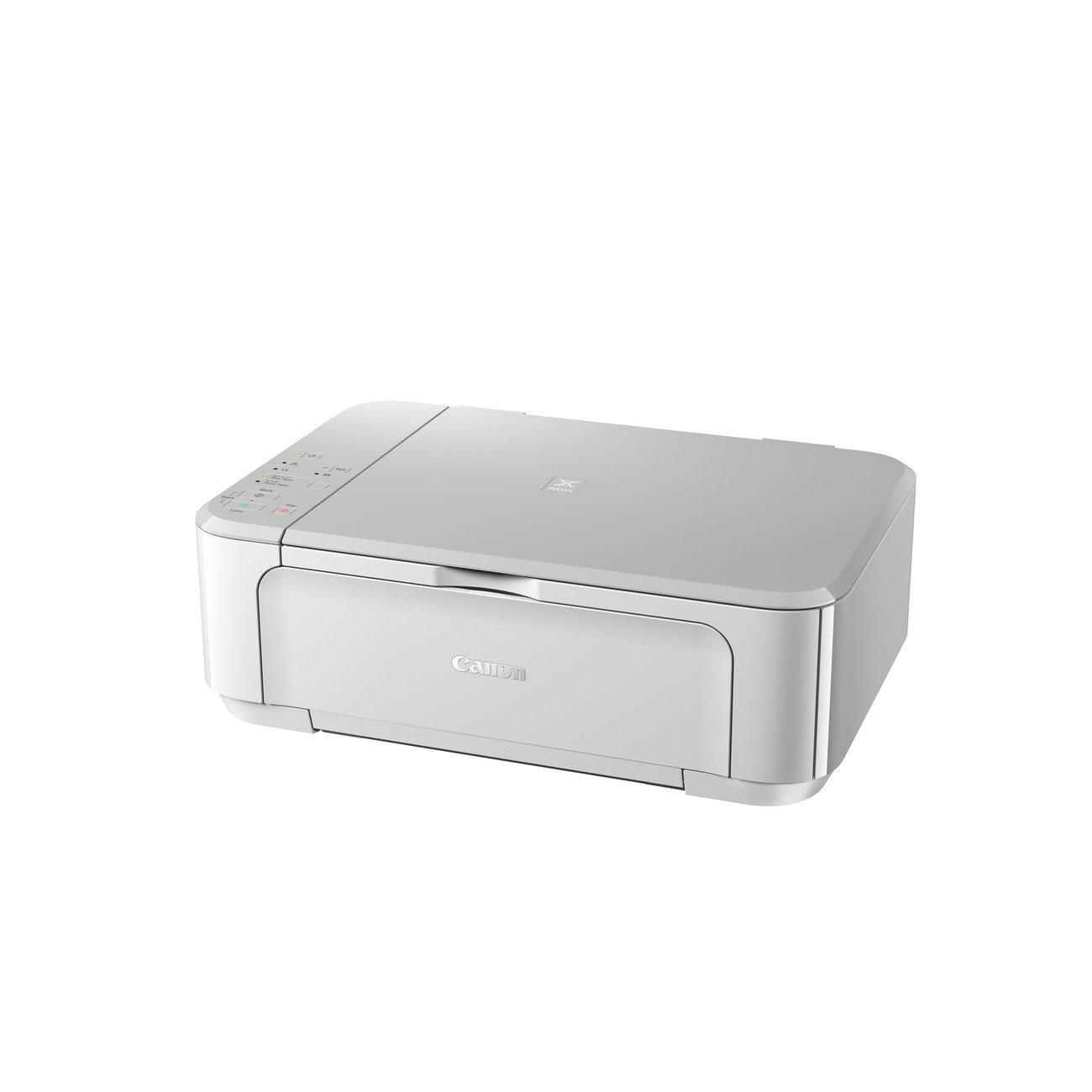 Canon Pixma MG3650 Imprimante Jet d'Encre Couleur 9,9 ppm Wi-Fi Blanc