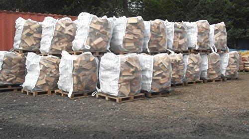 Super 10 luftdurchlässigige Big Bag Säcke fuer Brennholz Kaminholz  TW34