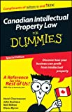img - for Canadian Intellectual Property Laws for Dummies book / textbook / text book