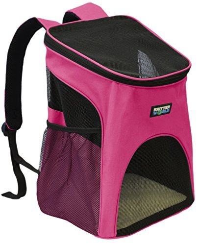 KritterWorld Pet Carrier Backpack Small Dogs, Puppies,...