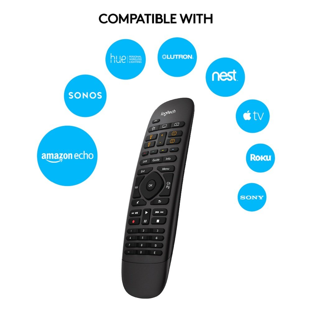 7d9de93f186 Logitech Harmony Companion All-in-One Remote Control: Amazon.co.uk:  Electronics