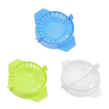 Hemore Gnocchi Bola de Masa Packaging Tool moldes de plástico para Poner a Prueba una Torta Creativa 3pcs Ravioli Dumpling Maker Utensilios de Cocina y ...