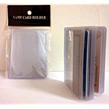 2 16-PAGE PLASTIC WALLET INSERT FOR BIFOLD OR TRIFOLD WALLETS CREDIT CARD & PHOTO HOLDER