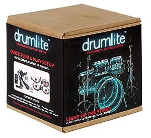 Drumlite DLK2D Dual LED Banded Lighting Kit for Drums