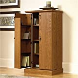 Cheap Sauder Orchard Hills Multimedia Storage Cabinet, Carolina Oak Finish