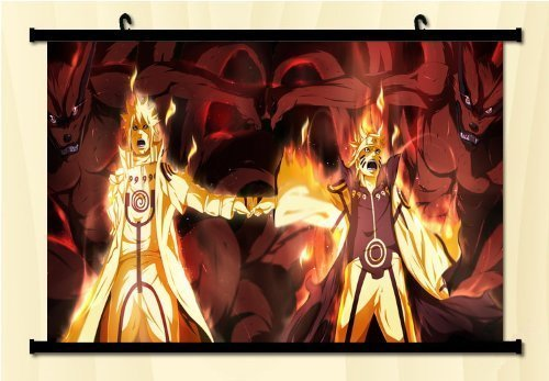 1 X Naruto Fabric Wall Scroll Poster 24*16 by Unknown