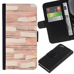 APlus Cases // Apple Iphone 6 4.7 // Papel de pared moderno arte abstracto Diseño // Cuero PU Delgado caso Billetera cubierta Shell Armor Funda Case Cover Wallet Credit Card