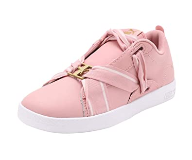 Smash WNS Buckle Bridal Rose T Sneakers