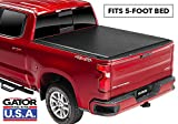 Gator ETX Soft Roll Up Truck Bed Tonneau Cover | 53112 | fits 15-19 GM Colorado/Canyon , 5' Bed | Made in the USA
