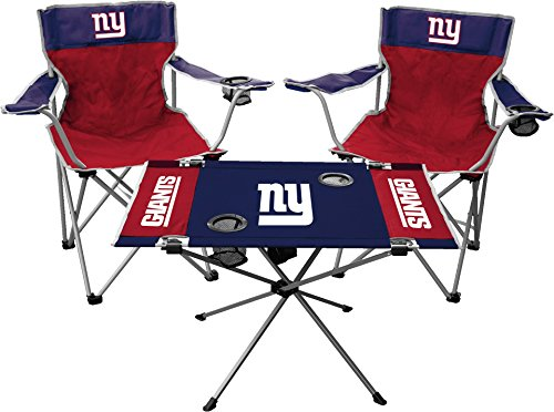 Rawlings NFL New York Giants Tailgate Kit, Team Color, One Size