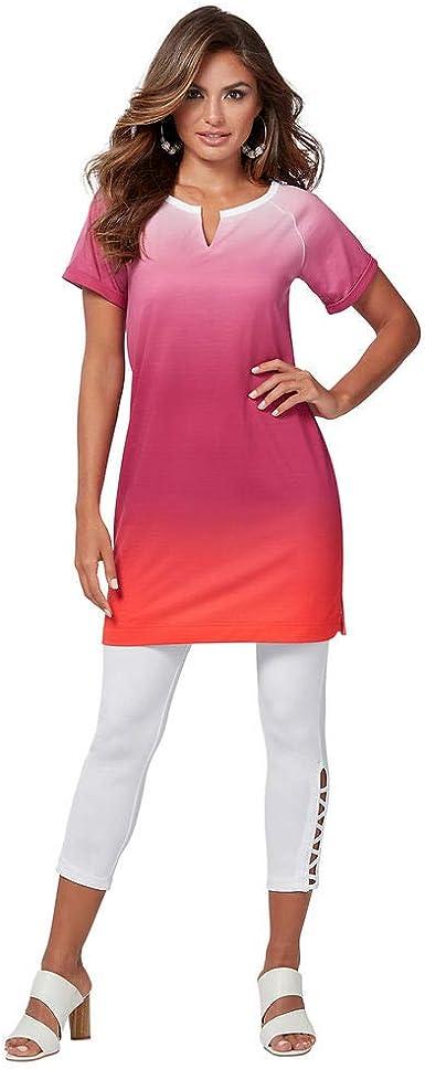 K. Jordan Printed T-Shirt Dress at