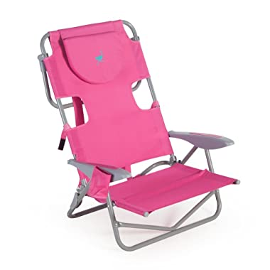 Ostrich On-Your-Back Chair - Pink