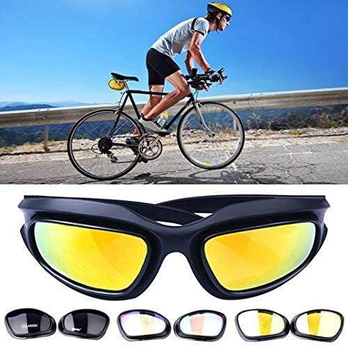 Polarizadas Lente Gafas Para El Sol de hípica con 4 lente de ...