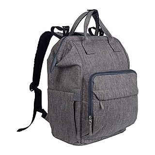 Diaper Bag Backpack for Mom & Dad, Baby Bag with Laptop Pocket,USB Charging Port,Stroller Straps