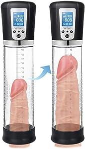 Electric Penǐspǔmps for Sẹx for Men Reạlistic 12 inch Vacuum Pǔmps Male Muscle Enlargers Device Penǐs Enlargement Training Pǔmp