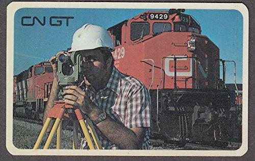 Canadian National Grand Trunk Railways pocket calendar 1980
