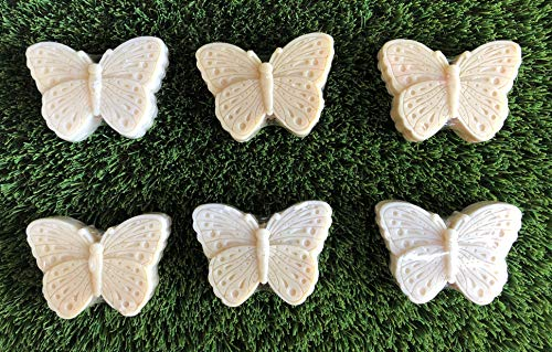 Charmed Garden Party Butterfly Oatmeal soap, a Great Spring Party, Wedding, Birthday Party Favor (Butterfly)