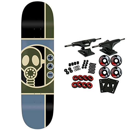 - Alien Workshop Skateboard Complete Gas Mask 8.125