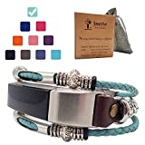 Smatiful Alta Wristbands for Men, Adjustable Replacement Sport Bands Comjpatible with for Fitbit Alta HR Watches, Teal Mint