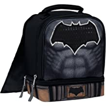Batman VS Superman Insulated Dual Compartment Lunch Bag