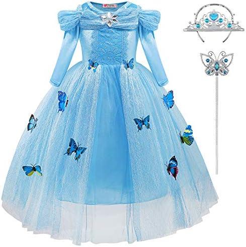 Vestiti Cerimonia Fantasia.Chuntian Abito Da Principessa Bambina Vestito Ragazza Carnevale