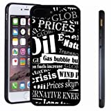 lovely white wood flooring iphone 7 8 Plus case, SoloShow(R) Slim Shockproof TPU Soft Case Rubber Silicone for Apple iphone 7 8 Plus [Black]