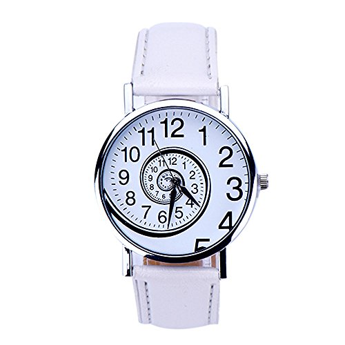 Swirl Stock Pin (Fashion watch Women Swirl Pattern Leather Analog Quartz Wrist Watch Freeshipping clock Relogio Feminino)