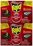 Raid Double Control Small Roach Baits + Egg Stoppers - 15 ct - 2 pk