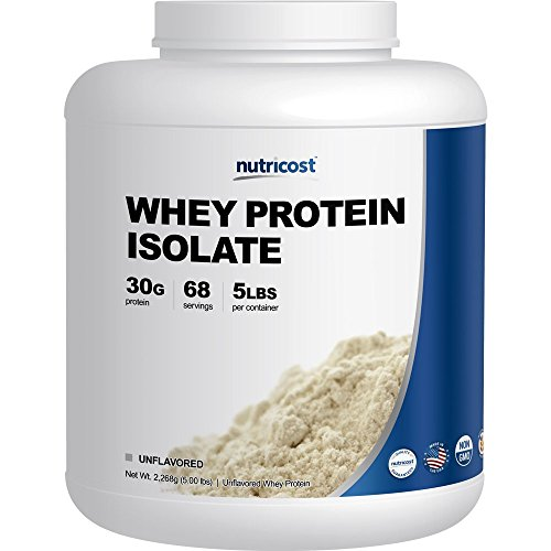 Nutricost Whey Protein Isolate Unflavored product image