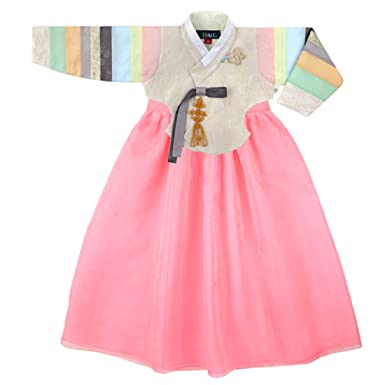 e6ee0a0fe Korean Beautiful Girl's Traditional Clothing Hanbok Dress Baby Girl Clothes  Birthday New Year Party Young Lady