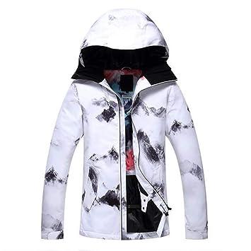 Zjsjacket Traje de Esqui Mujeres Ropa de Nieve Deportes al Aire Libre Traje de Snowboard Chaquetas