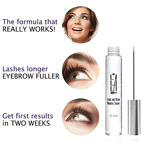 d576b076f2d Natural Eyelash Growth Serum - Eyebrow Growth Serum - Made in USA - Lash  Booster for