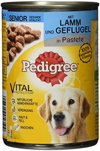 Pedigree Senior Dog Food 12Can (12x 400g) – Dogs Corner