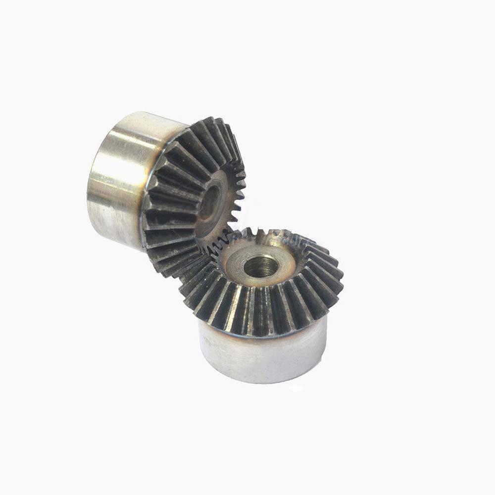 Motor Bevel Gear 1.5 Mod 21//22//23//24//25//26T 90° 1:1 Pairing Bevel Gear x 1Pcs