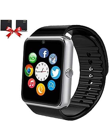 2f0227e44 ANCwear Bluetooth Smart Watch, Smartwatch with SIM Card Slot Camera Music  Play Sports Smart Watch