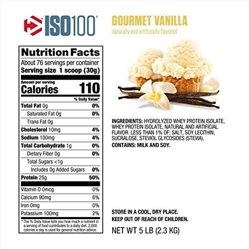 Dymatize Iso-100 Vainilla Gourmet - 2,3 Kg