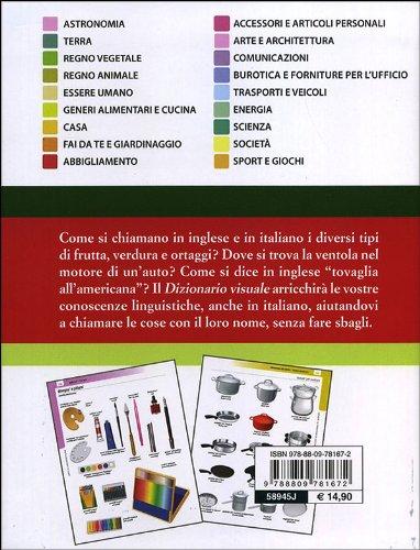 Dizionario Visuale Compact Italiano Inglese Ediz Bilingue Amazon