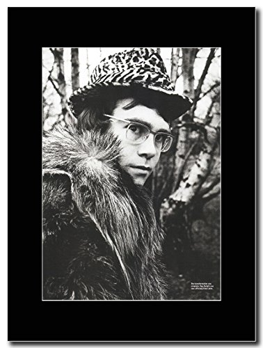 - Elton John - From Reg to Elton - Magazine Promo on a Black Mount