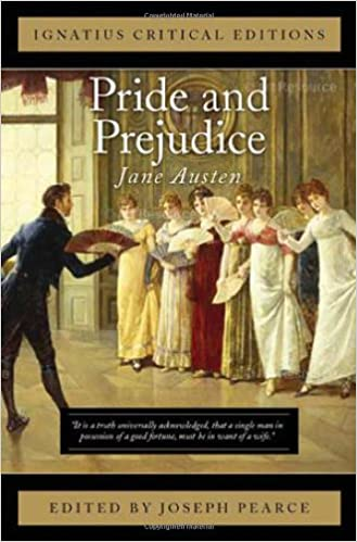 com pride and prejudice ignatius critical editions  pride and prejudice ignatius critical editions reprint edition