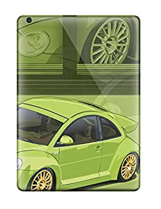 Fashion Tpu Case For Ipad Air- Green Beetle Rsi Defender Case Cover