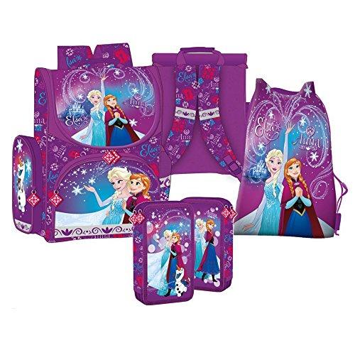 Frozen die Eiskönigin disney 3 Teile SCHULRANZEN + Sticker von Kids4shop RANZEN SCHULRUCKSACK Federmappe TASCHE SET