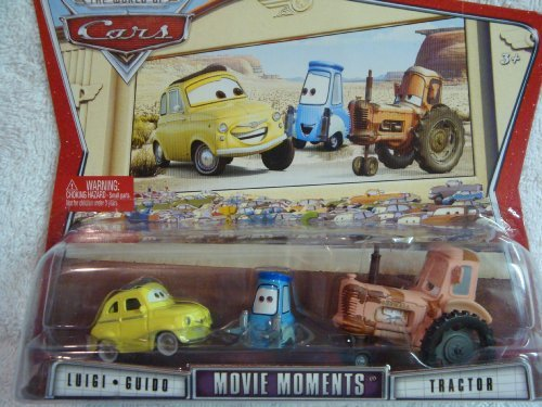 Disney Pixar Movie Moments Luigi, Guido & Tractor 1:55 Scale