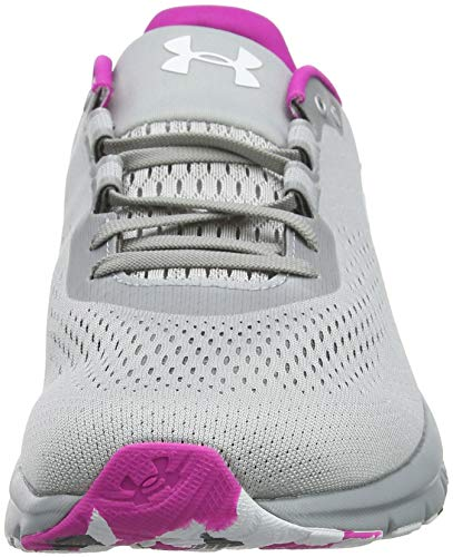 Grey 101 Women''s metallic W Shoes Ua Armour Silver Competition Charged Graphite Under White Spark Running RqZaUzxfw