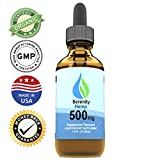 Serenity Hemp Oil :: 500mg (1oz) :: Hemp Oil Extract May Help Reduce Pain, Inflammation, Anxiety & Stress :: Helps with Sleep, Mood, Skin & Hair :: Rich in MCT Fatty Acids :: Made in USA (Peppermint) Larger Image