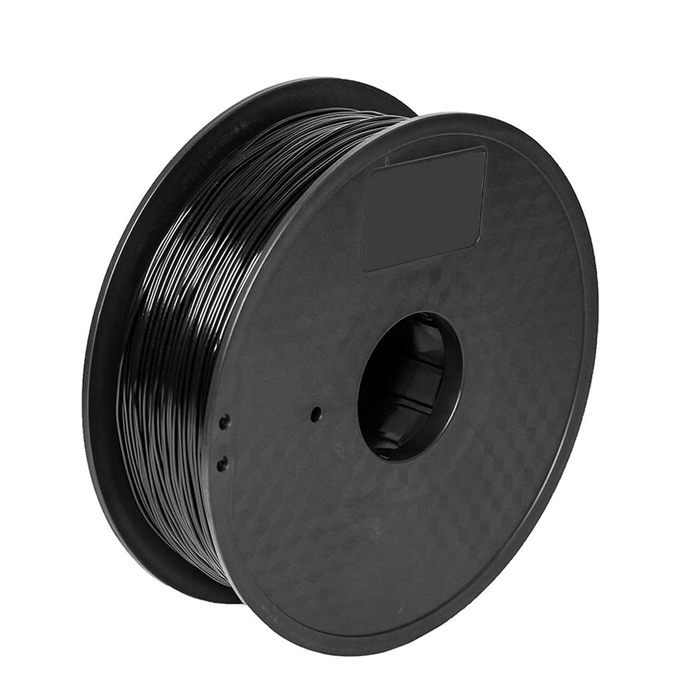 Pxmalion Flexible TPU 3D Filament, Black, 1.75mm, Accuracy +/- 0.03mm, Net Weight 1KG(2.2LB), Compatible with Most 3D Printers eTranslab Inc.