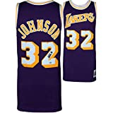 Magic Johnson Los Angeles Lakers Autographed Purple Mitchell & Ness Hardwood Classics Swingman Jersey - Fanatics Authentic Certified