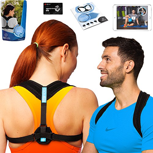 Fitophoria Posture Corrector for Women and Men - Effective Back Posture Brace for Prevent Slouching and Hunching - Comfortable Clavicle Support Brace - Posture Correct Brace by Fitophoria
